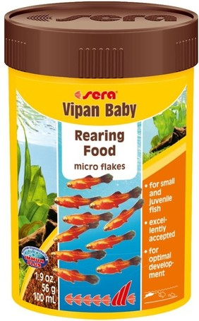 Sera Vipan Baby ivadéknevelő lemezes díszhaltáp