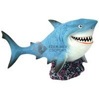 Happet cápa akvárium dekoráció