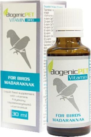 BiogenicPET folyékony vitamin madaraknak