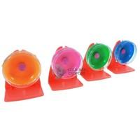 Néma futókerék műanyag állvánnyal (11 cm)
