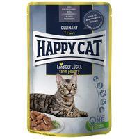 Happy Cat Meat in Sauce Land-Geflügel l alutasakos eledel baromfihússal macskáknak
