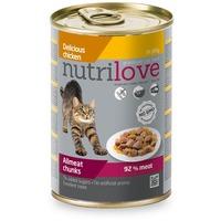 Nutrilove Cat aszpikos csirkehús konzervben