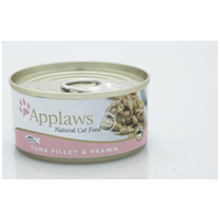 Applaws tonhalas és garnélarákos konzerv macskáknak