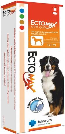 EctoMax spot on kutyáknak