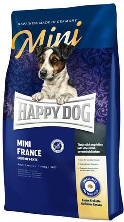Happy Dog Mini France | Gourmet kacsahúsos táp kistestű, érzékeny emésztésű kutyáknak