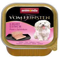 Animonda Vom Feinsten Light – Pulykás és sonkás kutyaeledel