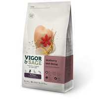 Vigor & Sage Kitten Wolfberry Well-Being Fresh Chicken & Seaweed száraztáp kölyökmacskáknak