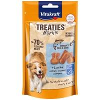 Vitakraft Treaties Minis puha jutifalatkák lazaccal és omega 3 zsírsavakkal kutyáknak