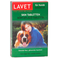 Lavet bőrtápláló tabletta kutyáknak