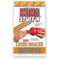 Kong Liver Mini Snacks kutyának