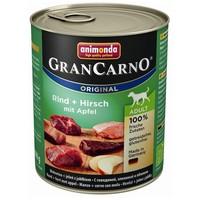 Animonda GranCarno Adult szarvashúsos, marhahúsos és almás konzerv