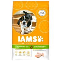 IAMS Dog Puppy & Junior Small & Medium Chicken