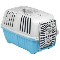 Pratiko műanyag ajtós szállítóbox kutyáknak és macskáknak