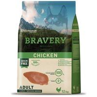 Bravery Dog Adult Medium/Large Grain Free Chicken | Kutyatáp Spanyolországból közepes és nagytestű felnőtt kutyáknak | Gabonamentes