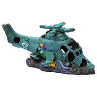 Helikopter roncs dekor akváriumba