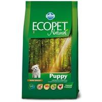 Ecopet Natural Puppy Mini | Száraztáp kistestű kutyákölykök számára