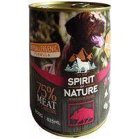 Spirit of Nature Dog vaddisznóhúsos konzerv kutyáknak | 75%-os hústartalom, hipoallergén eledel