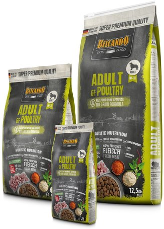 Belcando Adult Grain-Free Poultry   Gabonamentes szuperprémium kutyatáp