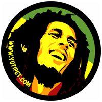 Bob Marley - Yutipet biztonsági kutyahám - Grafikus címke