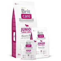Brit Care Junior Large Breed Lamb & Rice hipoallergén kutyatáp nagytestű kutyáknak