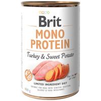 Brit Mono Protein Turkey & Sweet Potato | Hipoallergén konzerves kutyatáp pulykahússal és édesburgonyával
