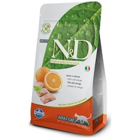 N&D Cat Adult Fish & Orange Grain Free | Halas és narancsos macskaeledel
