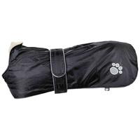 Trixie Orléans tépőzáras rögzítésű, könnyen felhelyezhető vízálló fekete kutyadzseki