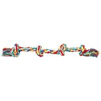 Trixie Denta Fun több csomós színes rágókötél kutyának