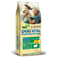 Dog Vital Junior Maxi Breeds Sensitive Lamb | Szárazeledel nagytestű növendék kutyáknak
