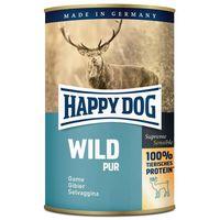 Happy Dog Wild Pur - Tiszta vadhúsos konzerv | Egyetlen fehérjeforrás