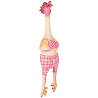 Trixie latex fürdőruhás csirke kutyajáték