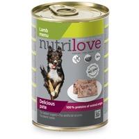 Nutrilove Dog bárányhúsos pástétom konzervben 400 g