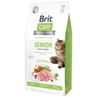 Brit Care Senior Weight Control Fresh Chicken - Hipoallergén eledel idős (7 év feletti) macskáknak