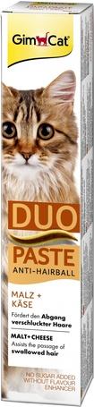 GimCat Anti-Hairball Duo sajtos paszta