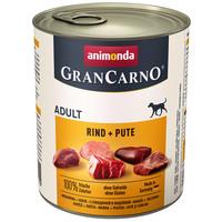 Animonda GranCarno Adult marhás és pulykás konzerv