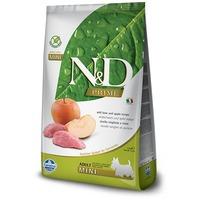 N&D Dog Adult Mini Boar & Apple Grain Free | Vaddisznóhúsos és almás kutyaeledel | Kistestű kedvenceknek