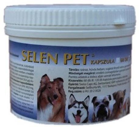 Selen Pet gyógyhatású kapszula kutyáknak és macskáknak