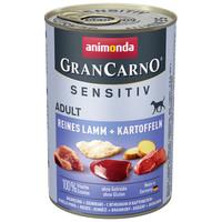 Animonda GranCarno Sensitiv bárányhúsos és burgonyás konzerv