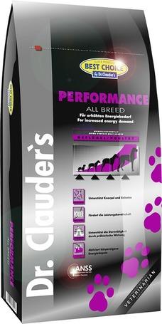 Dr.Clauder's Best Choice Adult Performance | Táp magas energiaszükségletű felnőtt kutyáknak