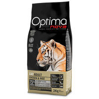Visán Optima Cat Adult Chicken & Rice macskaeledel
