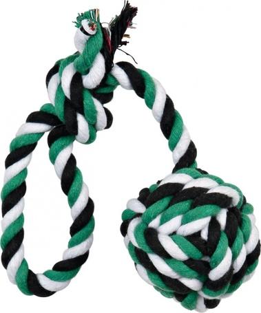 Trixie Denta Fun függő játéklabda kötélből