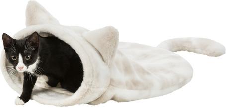 Trixie cica formájú macska búvóhely plüss borítással