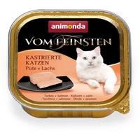 Animonda Vom Feinsten ivartalanított macskáknak – Pulykahúsos és lazacos eledel
