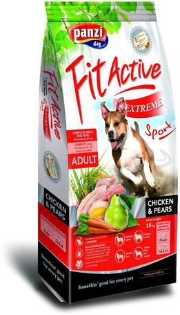 FitActive Extreme Sport Chicken & Pears | Szárazeledel aktív- és sportkutyák részére