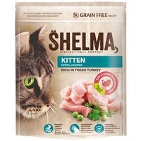 Shelma Kitten friss pulykahúsból készült száraz macskaeledel