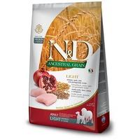 N&D Dog Adult Medium & Maxi Light Chicken & Pomegranate Low Grain száraztáp