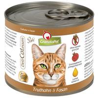 GranataPet DeliCatessen pulyka- és fácánhúsos konzerv macskáknak