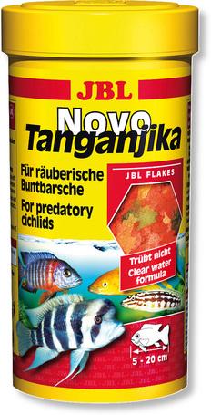 JBL NovoTanganjika lemezes táp ragadozó sügerek részére