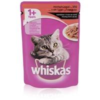 Whiskas szószos marhahús alutasakban