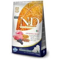 N&D Dog Low Grain Puppy Medium/Maxi bárányhússal és áfonyával | Közepes és nagy testméretű kölyökkutyáknak